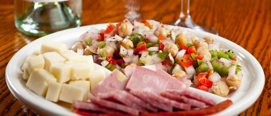 Complimentary Antipasto Appetizer with Entree